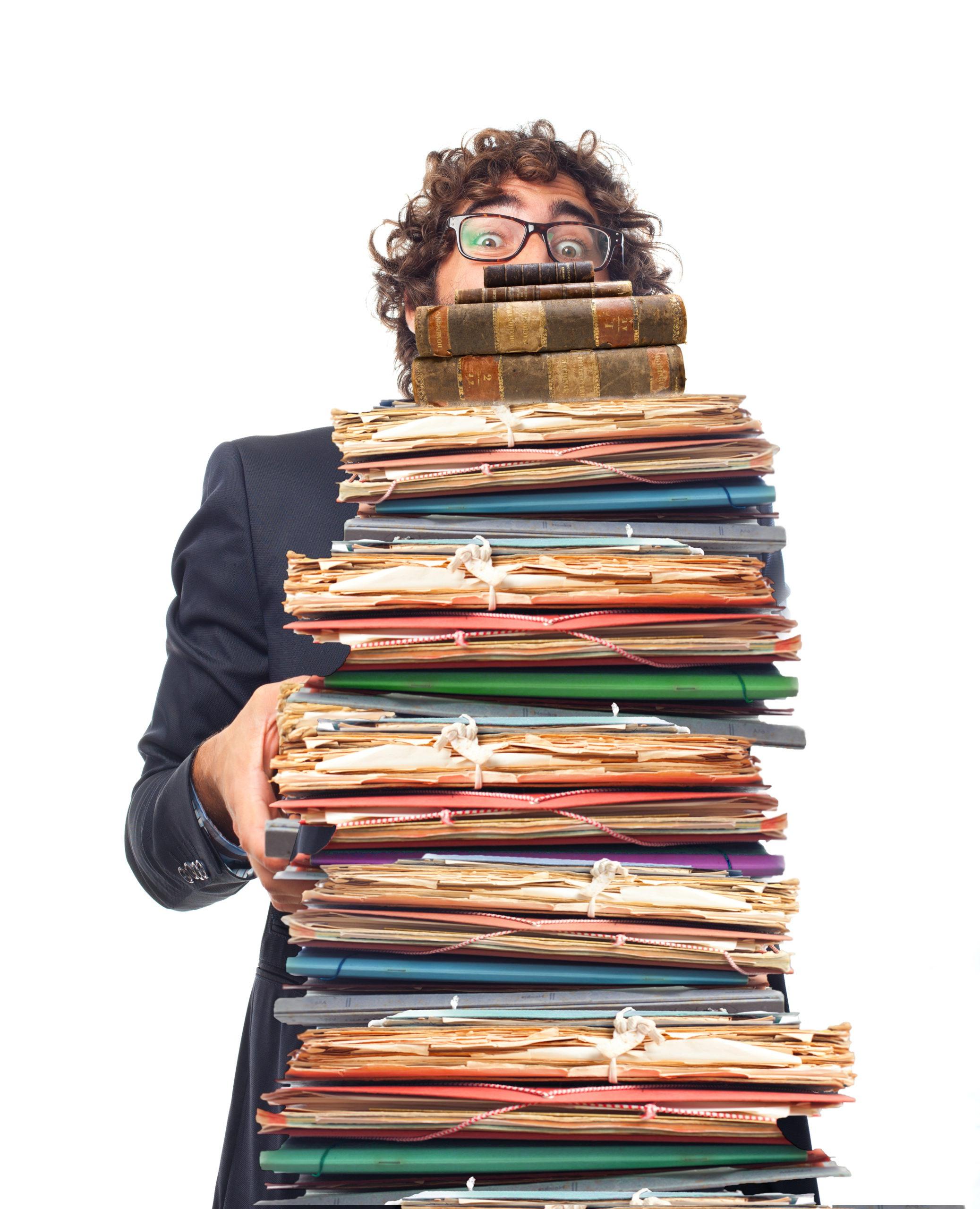 Сдать архив предприятия